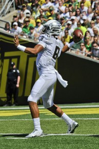 Dynamic quarterback Marcus Mariota will help lead the charge against SEC superiority in 2014.
