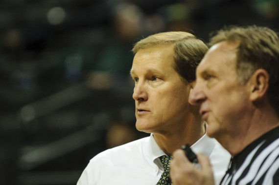 Oregon head coach Dana Altman