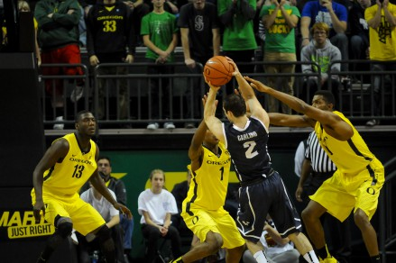 Help-side defense is a great example of the importance of a team having each others' back.