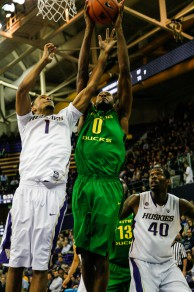 Oregon's current winning streak began against the Washington schools.