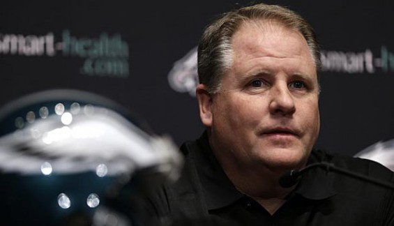 Chip Kelly coach of the Eagles