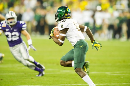 Players like Cody Carriger and Christian French have size and speed, neither player much slower on a track than even De'Anthony Thomas.