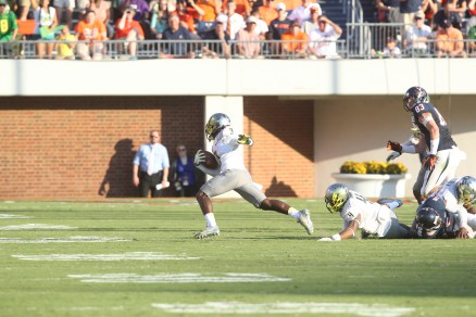 Dior Mathis getting away from Virginia