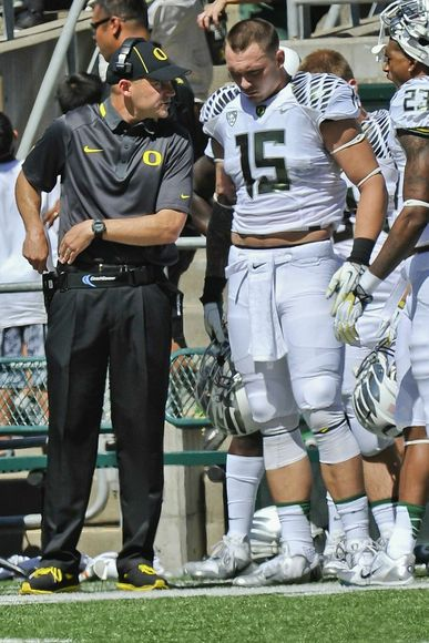 Colt and Mark Helfrich never seemed to see eye to eye