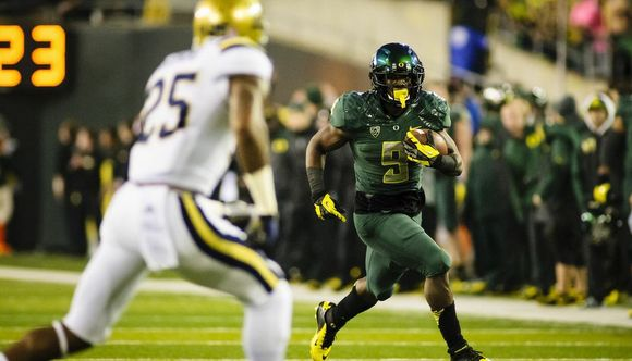 Byron Marshall ran for 3 touchdowns and 133 yards against UCLA