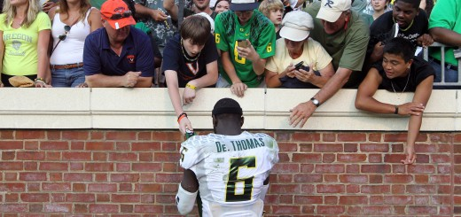 De'Anthony Thomas made many Oregon fans happy when he flipped from USC