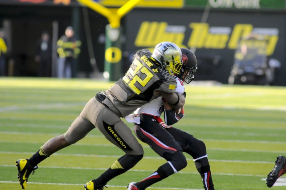"Against Utah in 2013, a ""body blow"" game for Oregon"