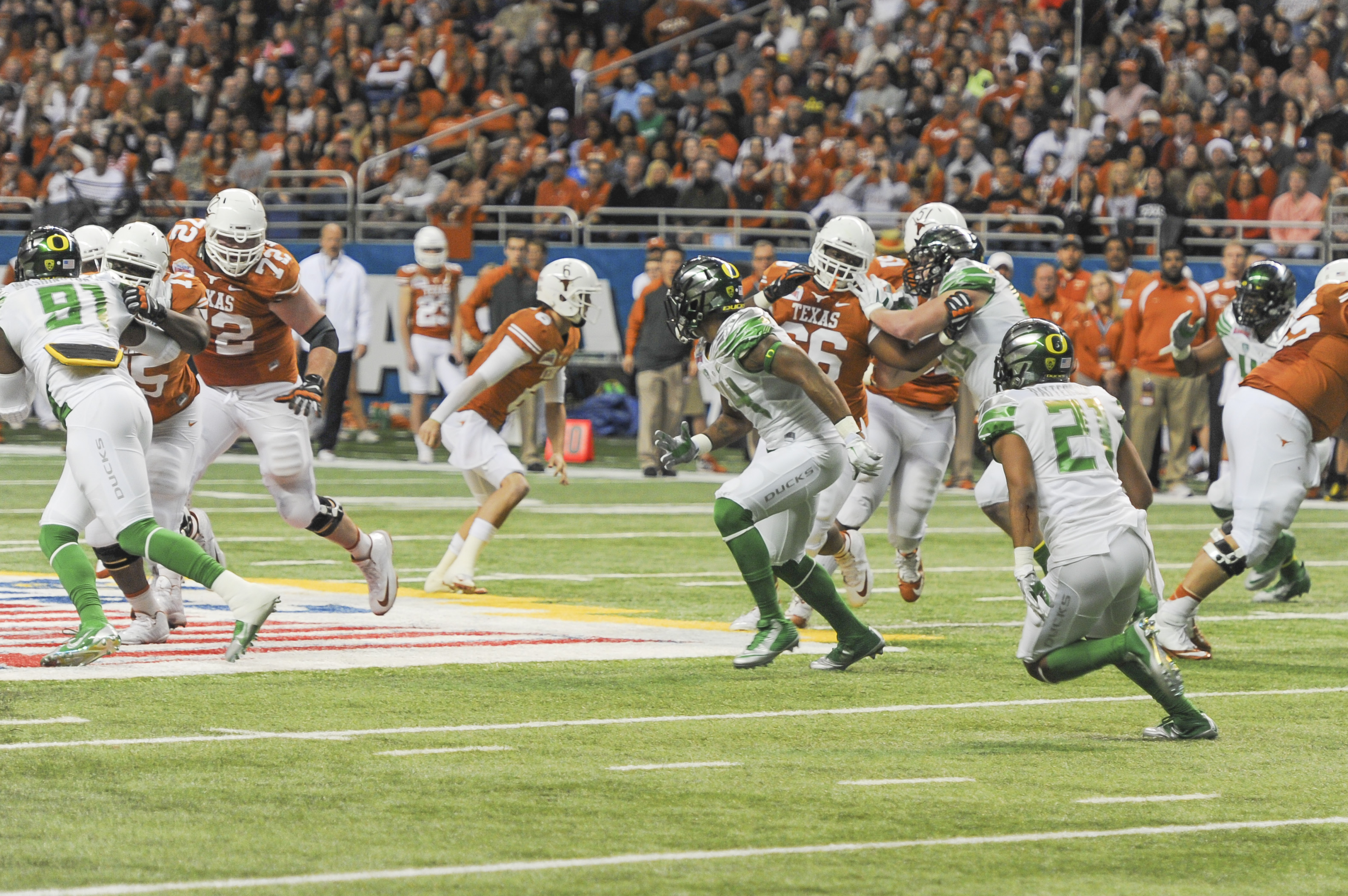 Great Defense 115, Texas,13,DC