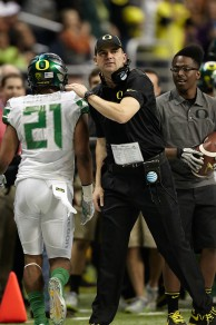 Helfrich has a good reputation among Oregon players