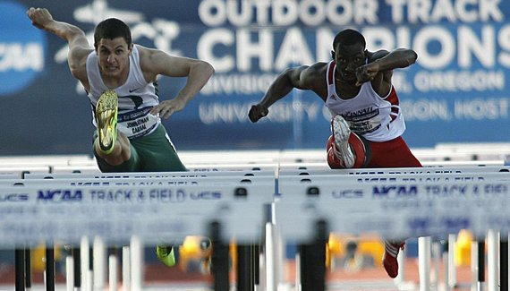 Competitors at last years 2013 NCAA Track and Field Championship