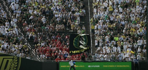 Fans at Autzen
