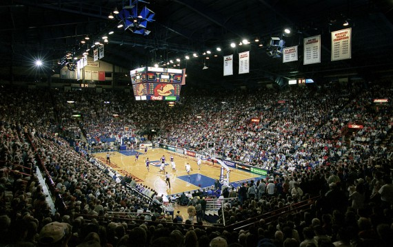 Allen Fieldhouse remains one of the iconic basketball venues in the country.