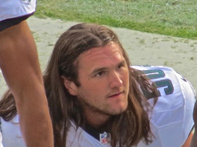 Casey Matthews, barely hanging on