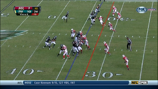 McCoy gets a nice opening.