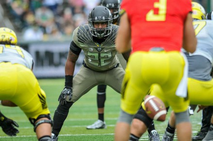 Derrick Malone continues to be a leader for this Duck defense.