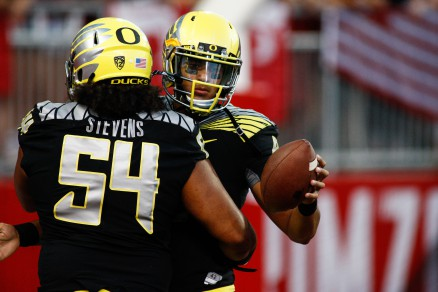 Stevens will be making sure the Beavers don't get to Mariota on Saturday
