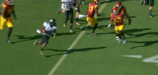 The Colorado running backs are going to be fresh so the Ducks are going to have to be ready to tackle