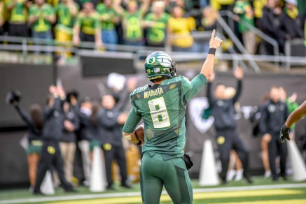 It was a wild ride No. 8. Whatever Mariota chooses, he'll have the entirety of Duck Nation behind him.