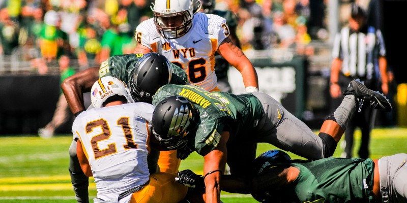 The Ducks are ranked second in Scoring Defense in the Pac-12.