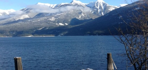 Kootenay Lake & the Purcell Mountains, Kaslo, British Columbia