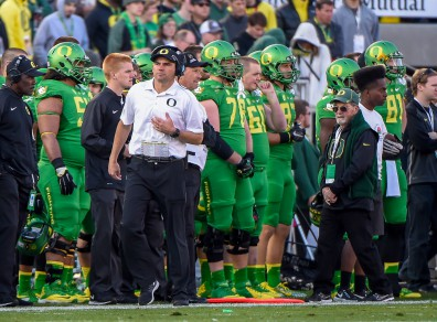 Helfrich took responsibility in the dark hour and guided his team to the National Championship Game.