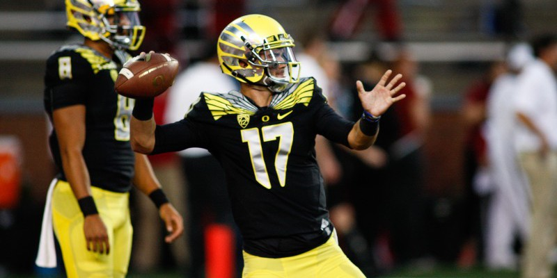 Who will be the next starting QB for Oregon?