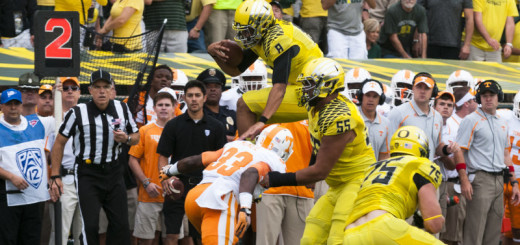 Mariota leaps to the top of draft boards and hearts everywhere