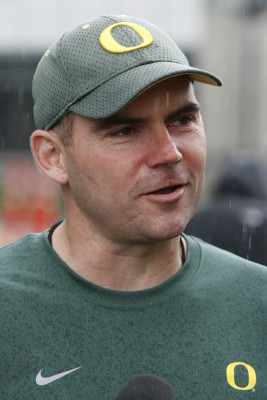 Oregon Head Coach Mark Helfrich