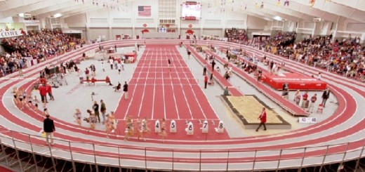 The championships will be held at the University of Arkansas indoor track.