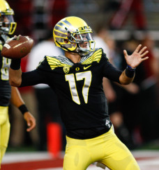 Jeff Lockie has the most experience of any returning Duck QB.