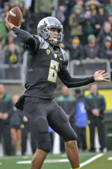 Gruden loves Mariota for both his physical and mental attributes.