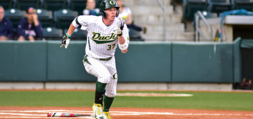 Oregon Ducks defeat the Stanford Cardinal 7-3 in the first game of a 3 game Pac-12 series at PK Park.