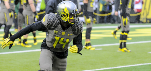 Ducks defeat Utah 44-21 at Autzen Stadium on November 16, 2013.