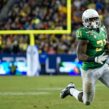 Oregon demolishes Arizona in payback victory, ears Pac-12 Title.