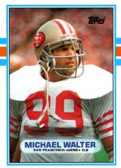 Michael Walters Football rcard