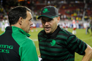 Kelly left big shoes to fill, and Helfrich has filled them well.