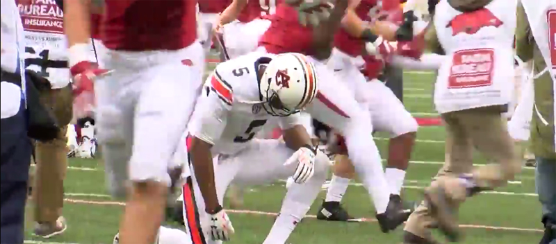 Auburn's 54-46 loss to Arkansas on Saturday dropped the Tigers to 4-3 on the season.