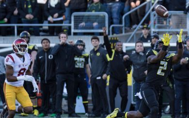 Oregon's chances for a good bowl game are as wide open as a Duck receiver against the Trojans.