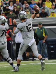 The backups couldn't get a win versus Washington State