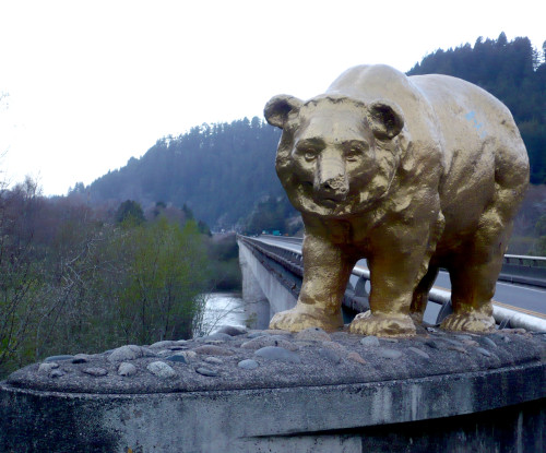 $100 from Charles Fischer to the first commenter who can identify this bear.