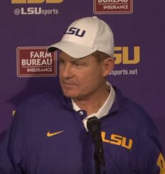 Les Miles going for the prize?
